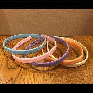 Other - Girls assort pastel headbands